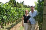 Terry & Maureen in Vineyard 2009